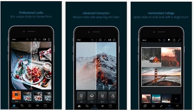 Phần mềm Adobe Photoshop Express