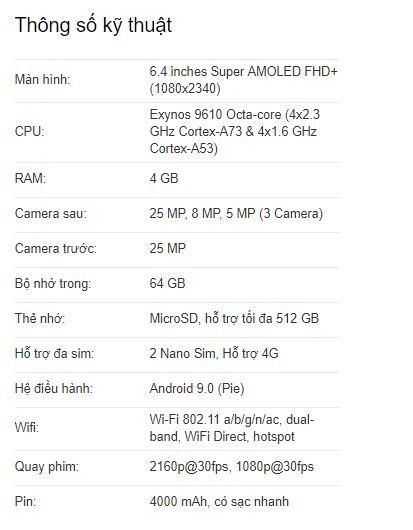 điện thoại có hỗ trợ 4G không?