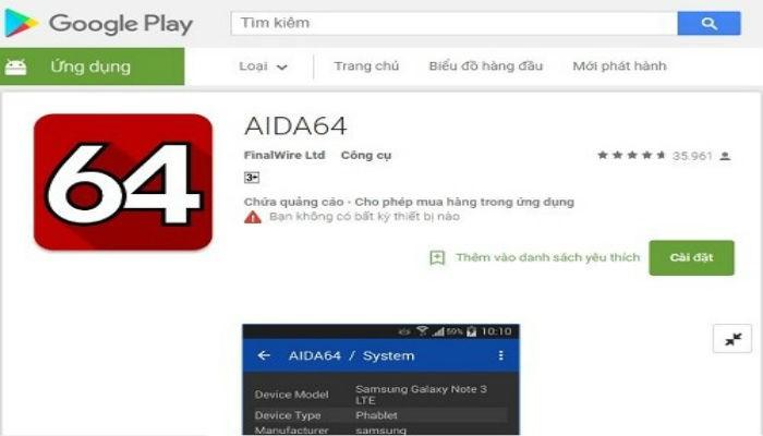 Phần mềm kiểm tra độ chai pin Android