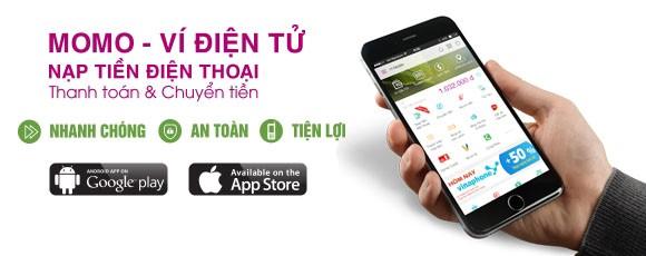 Chuyển tiền qua điện thoại bằng ứng dụng MoMo