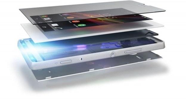 Màn hình điện thoại cảm ứng sẽ gồm 3 lớp cơ bản