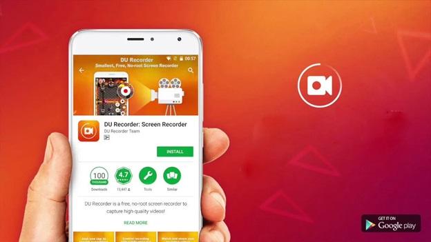 Ứng dụng DU Recorder Live hoạt động trên hệ điều hành iOS