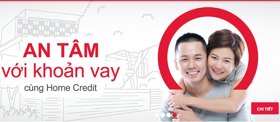 An tâm khi vay tài chính cùng Home Credit