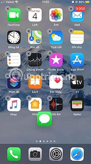 Người dùng thử nhấn mở các mục bất kỳ trên điện thoại iPhone