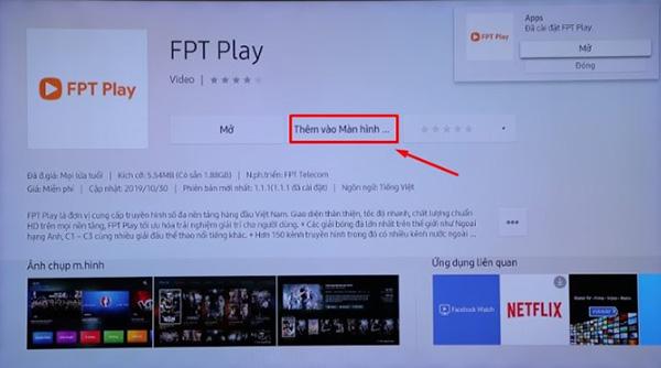 Cách tải ứng dụng trên Smart Tivi Samsung và cài đặt (1)