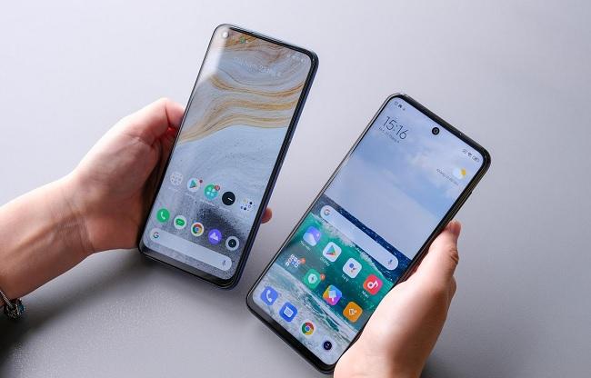 So sánh thiết kế Realme 6 và Redmi Note 9S